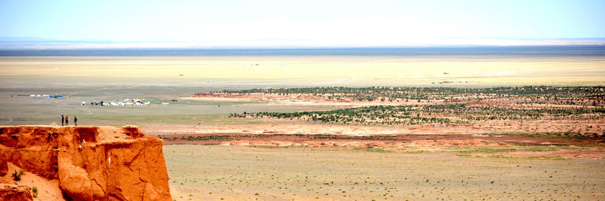 Bajandsag Flammende Klippen in wüste gobi
