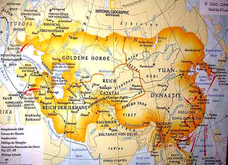 mongolen reich